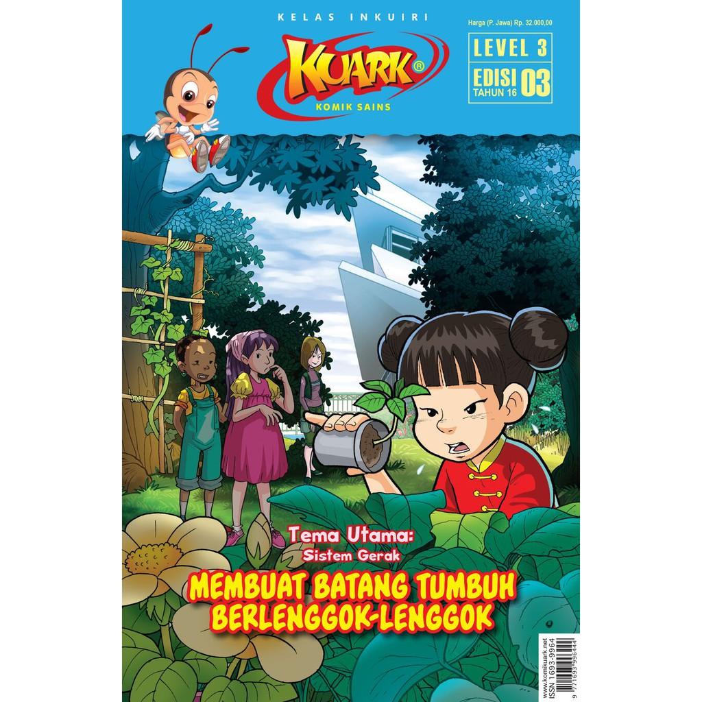 Kuark Komik Sains Level Iii Edisi 3 Tahun Xvi Shopee Indonesia