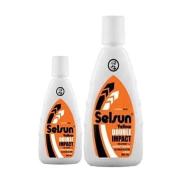 SELSUN Shampoo Conditioner Series / Sampo Anti Ketombe Blue 5 Yellow Gold 7 Herbal Flowers-3