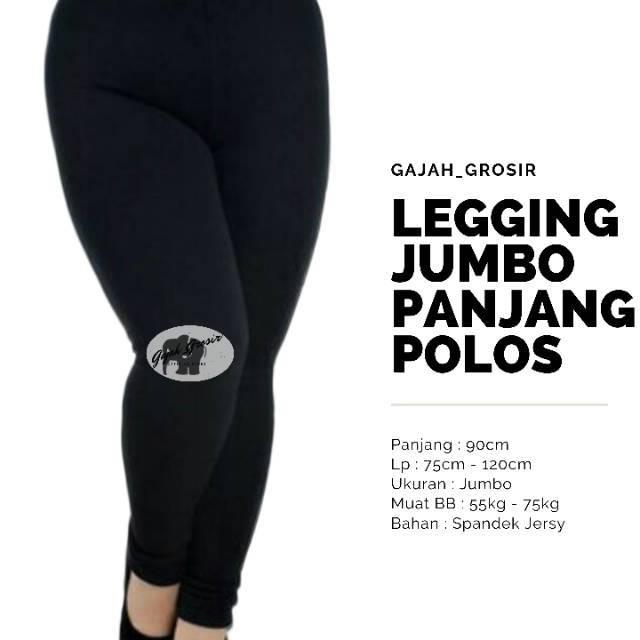 Celana Legging Jumbo Lejing Panjang Jumbo Shopee Indonesia