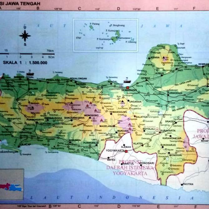 Buku Peta Atlas Global Indonesia Dunia Ukuran Besar Edisi 34 Propinsi Shopee Indonesia