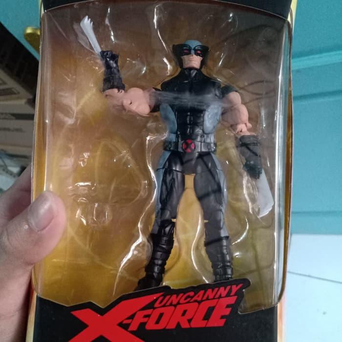 X-Force en main Marvel Legends WOLVERINE Figure no Wendigo BAF PIECE