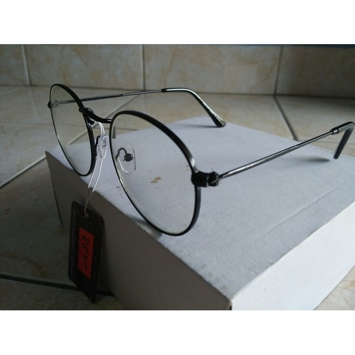 Paling Dicari Kacamata Korea Kacamata Bulat Fashion Hitam Trendy Gaya Korea  - Hitam Murah  fd34276284
