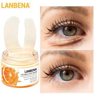 [Bayar Di Tempat]LANBENA Vitamin C Eye Masks 50pcs thumbnail