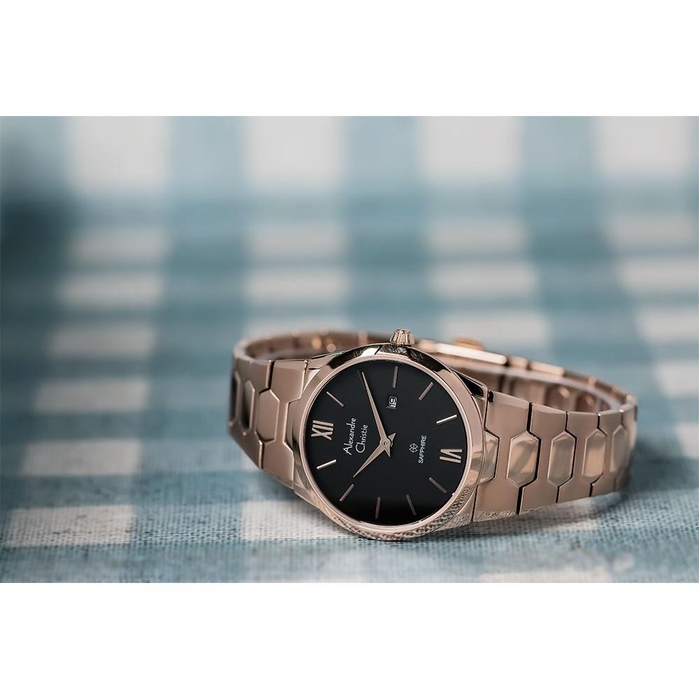 Toko Online Brandedwatch Official Shop Shopee Indonesia Alexandre Christie Ac6270 Brown Black Original