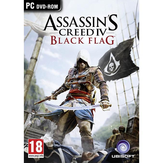 Assassin S Creed Iv Black Flag Pc Games Dvd Cd Games Kaset Game Komputer Laptop Shopee Indonesia