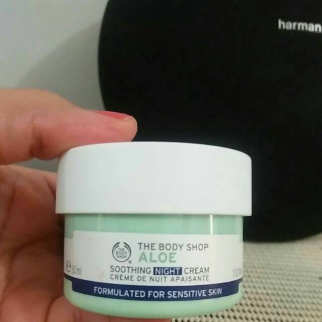 Cream Malam Body Shop Untuk Kulit Berjerawat