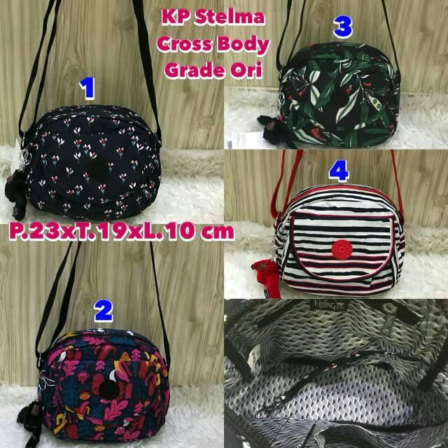 Tas Wanita Handbag Selempang Kipling Art S Grade Ori Waterproof ... 625d466ca3