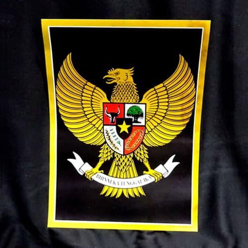 Poster Garuda Pancasila Kecil Shopee Indonesia
