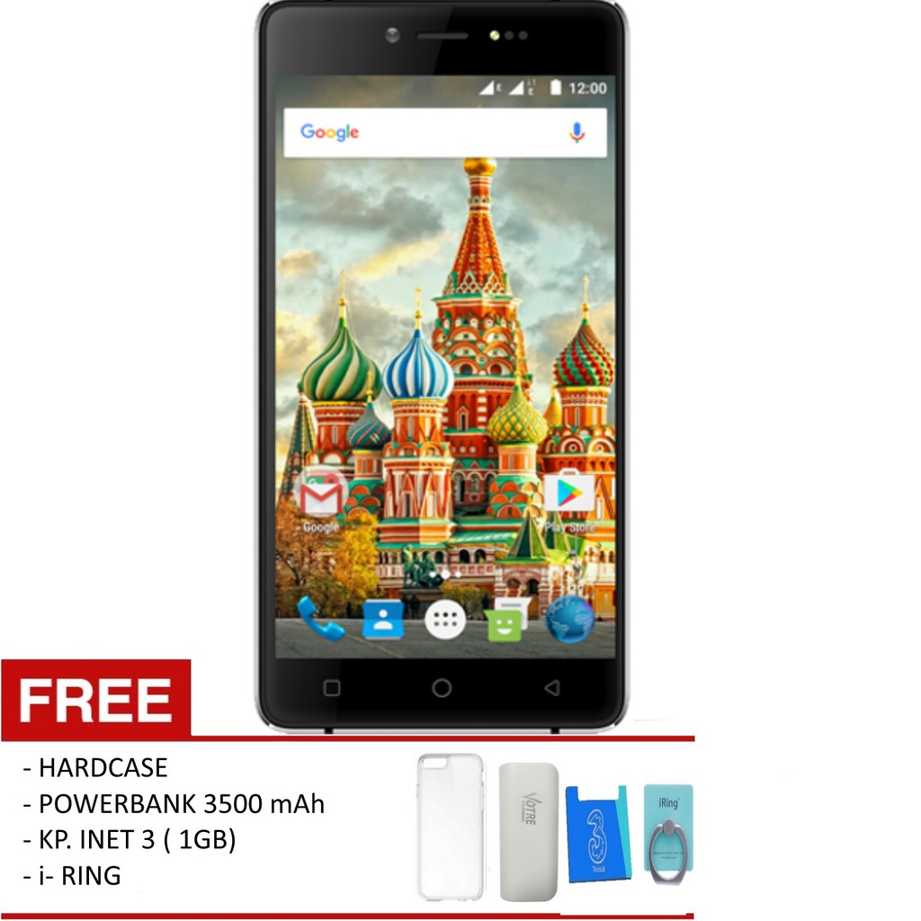 Evercoss A53 35 3g Ram 256mb Rom 512mb Free 4 Item Acc Mito A850 Android Jellybean Shopee Indonesia