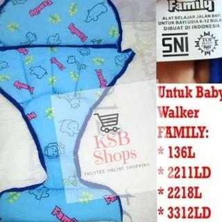 Harga TERMURAAH.. Jok Busa Kasuran FAMILY Baby Walker ...