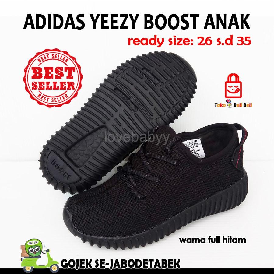 9bf71a250eb56 Sepatu Adidas Yeezy Boost Kids Anak TK SD Cewek Cowok Cewe Cowo Kecil