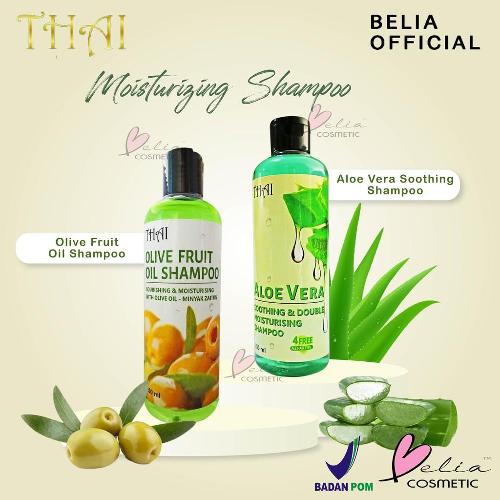 ❤ BELIA ❤ THAI Shampoo | Olive Oil Shampoo | Aloe vera Shampoo (✔BPOM) 250ml