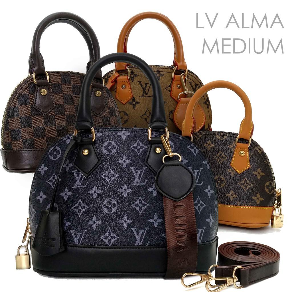 d7af14306577 HANDBAGKU TAS LV ALMA MINI 2 STRAP fashion wanita import batam murah  terbaru selempang branded | Shopee Indonesia