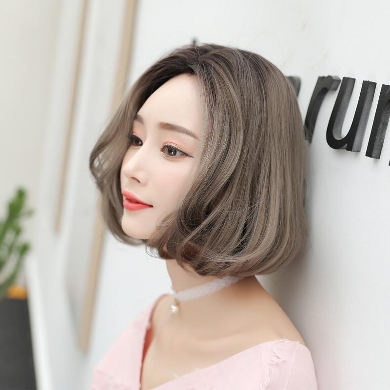 Wig Rambut Pendek Wanita Bobo Korea Selatan Kepala Dalam Bentuk Keriting Alami Halus Bersih Seluru Shopee Indonesia
