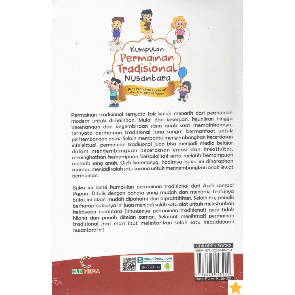 Terbaru Buku Kumpulan Permainan Tradisional Nusantara Shopee Indonesia