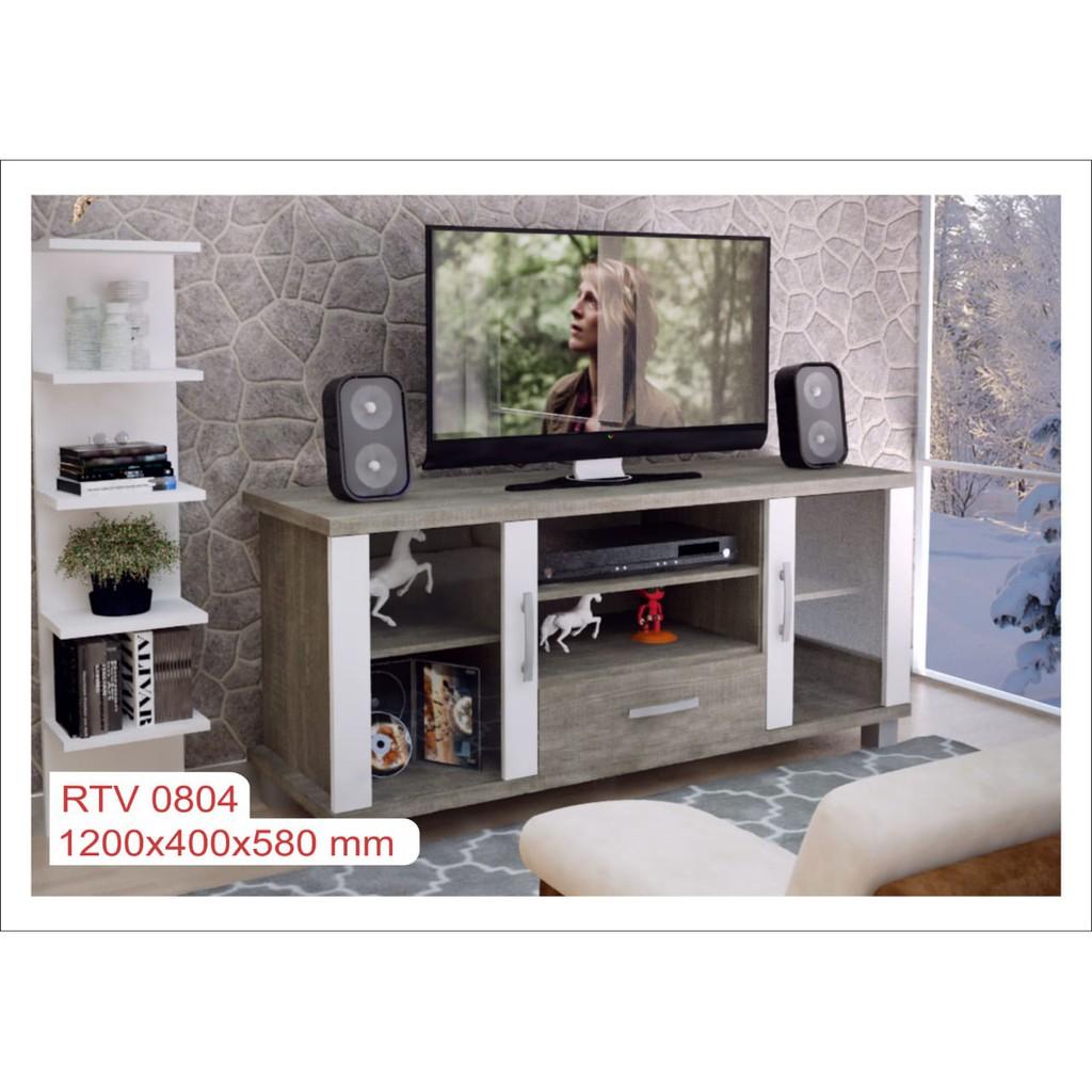 Meja Tv Rak Tv Minimalis Modern Lemari Tv Cabinet Tv Romaro 04 Shopee Indonesia