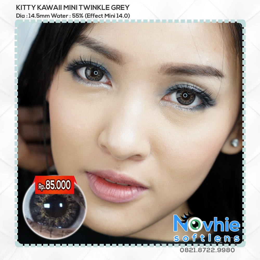 Dreamcolor1 Mini Lapis Grey Softlens Minus 000 Normal Gratis Nobluk By Dreamcon Dreamcolor Shopee
