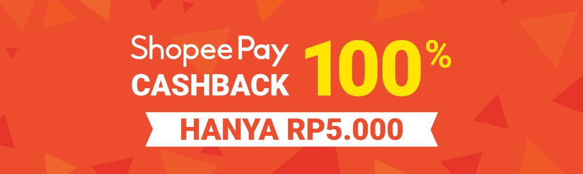 Shopeepay Cashback 100