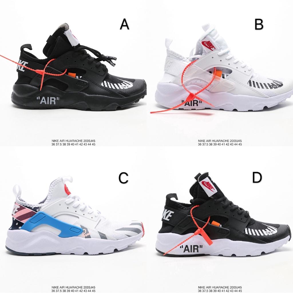 mordaz País de origen Contrapartida  Sepatu Sneakers Desain Off White x Nike Air Huarache Ultra Wallace Generasi  4 untuk Pria 115 | Shopee Indonesia