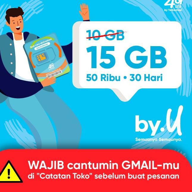 [KODE PRODUK 97] by.U Yang Bikin Nagih - 15 GB | 50 RIBU | 30 HARI TERMURAH!!!