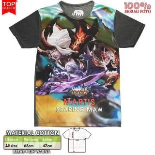 Kaos 3D Full Print Thailand Cotton Baju Katun Cowok Tshirt Distro Pakaian Pria MOBILE LEGENDS HERO