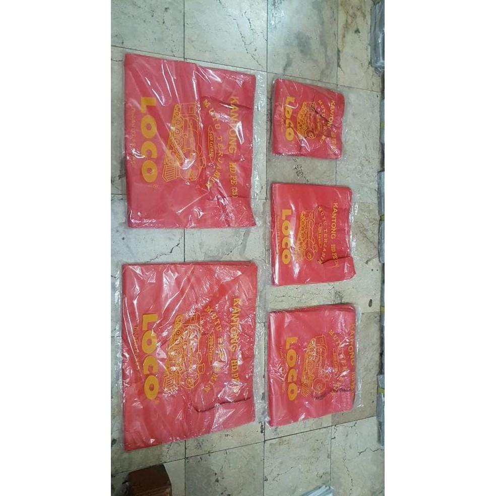 Plastik Loco Merah Uk 17 Kresek Tebal Shopee Indonesia Kantong Hd Pe