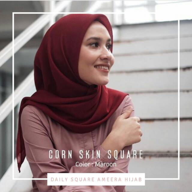 Daily Square Ameera Hijab Shopee Indonesia