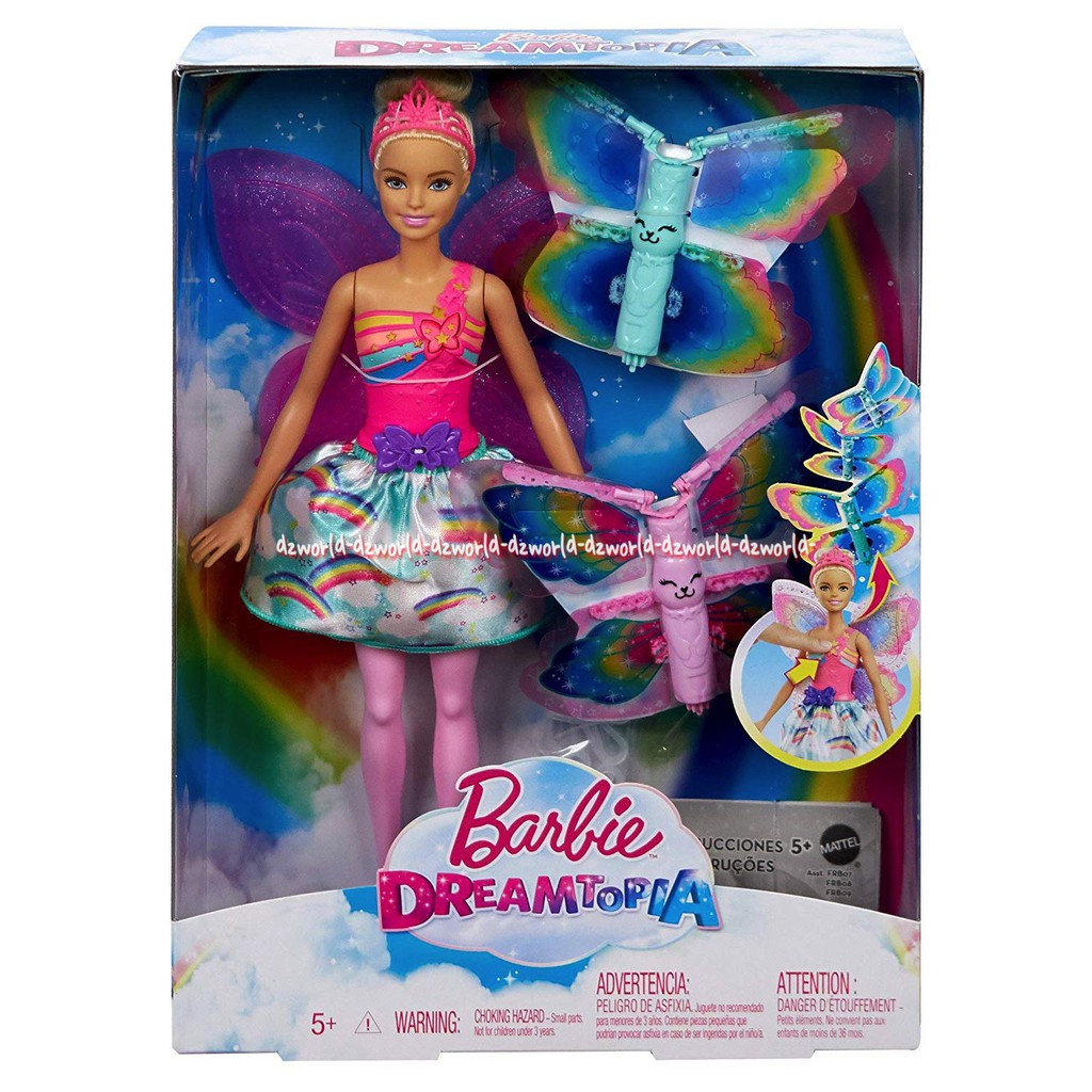 Barbie Dreamtopia Change Dress Boneka Berbi Bisa Ganti Costum Dreamtopia  With 3 Fairytale Costume  575ef71617