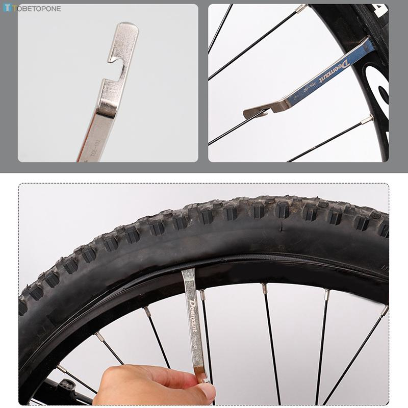 Bicycle Tire Lever Disassembly Maintenance Bar Repair Changing Durable