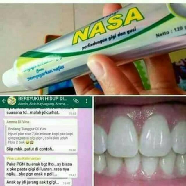 Pasta gigi Nasa Exp 02 2023 asli member  b35a60cf93