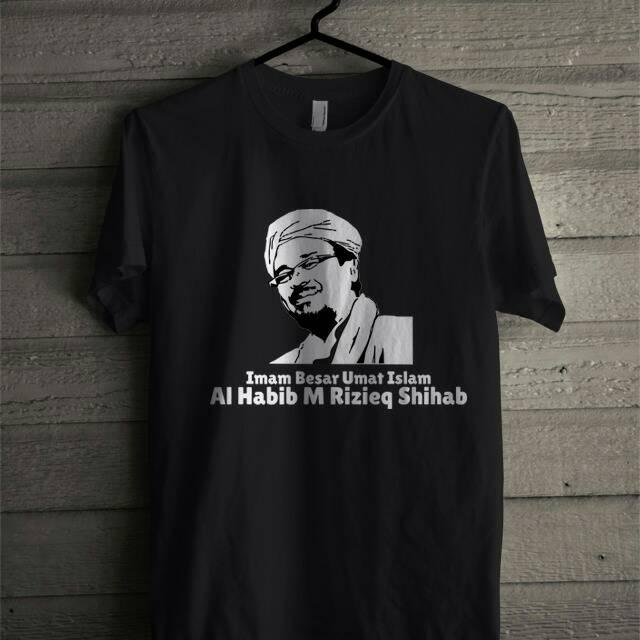 Kaos Habib Rizieq Dan Habib Bahar Shopee Indonesia
