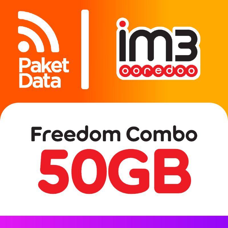 FLASHSALE!!! Paket Data Freedom Combo 50GB Indosat/IM3 Prabayar Kuota TerMURAH!!!