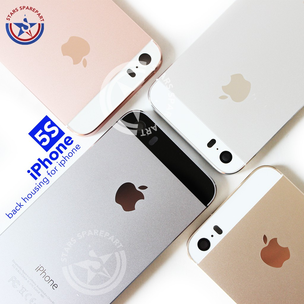 Iphone 5 5s Model 6 Housing Casing Back Case Backdoor 8p Shopee Indonesia