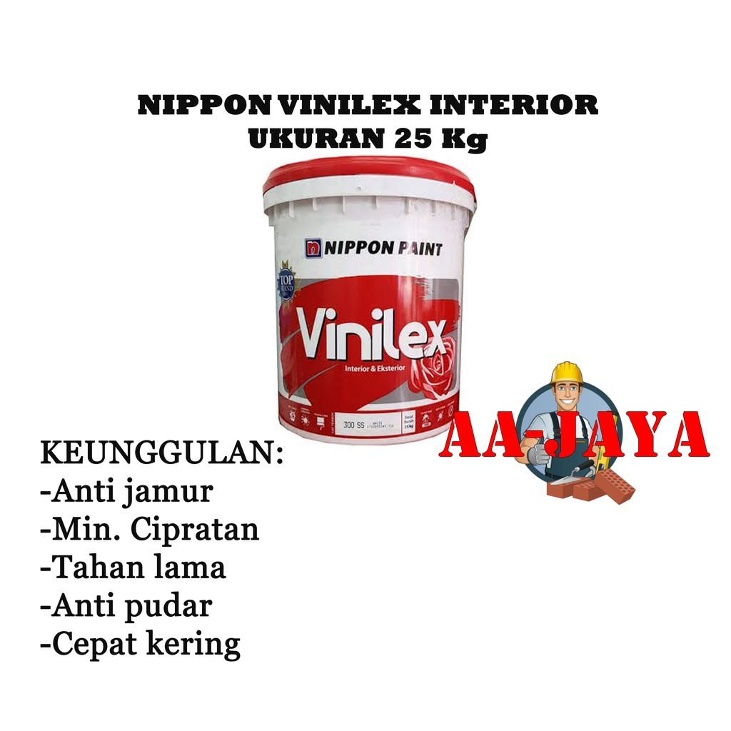 Nippon Vinilex Interior / Cat Tembok Ukuran 25 Kg (Putih ...