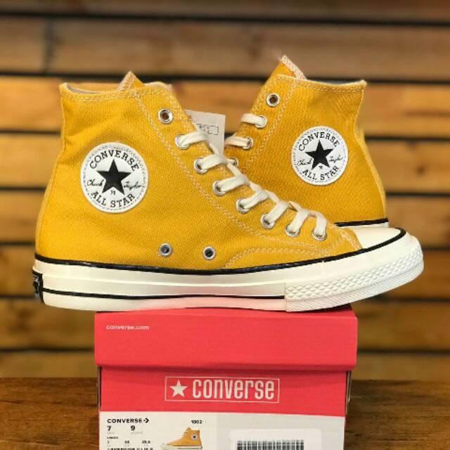 All Star But Yelow Big Sale Sepatu Casual Converse All Star Yellow