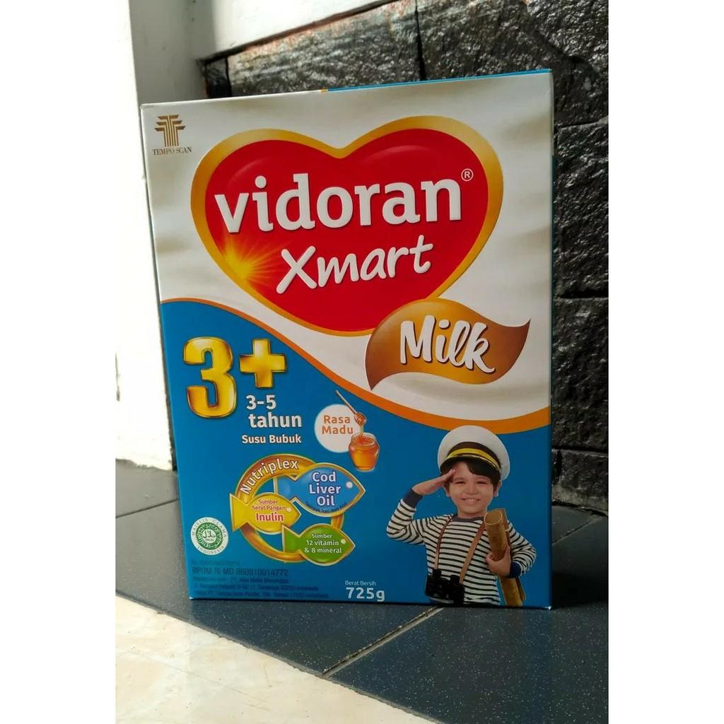 Vidoran Xmart Vanilla Milk 3 Susu Untuk 5tahun Fidoran Smart Rasa Dancow Batita Madu Box 500g Khusus P Jawa Vanila 750gr Shopee Indonesia