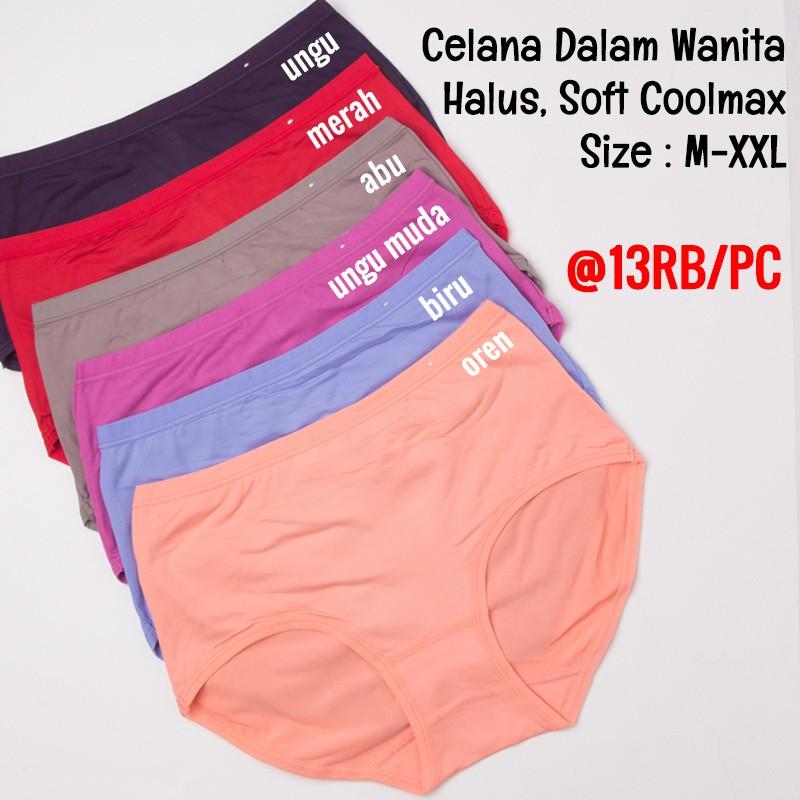 Celdam 02 Vaya CoolMax Celana Dalam Wanita  4d10faa135