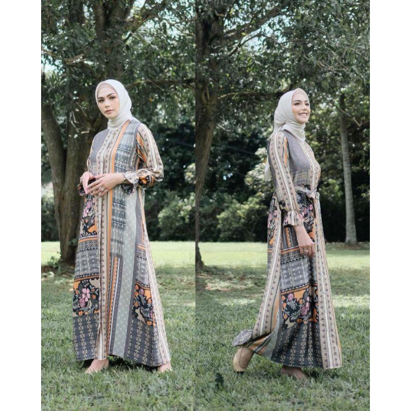 Binar Dress by Vanilla Hijab - Nature