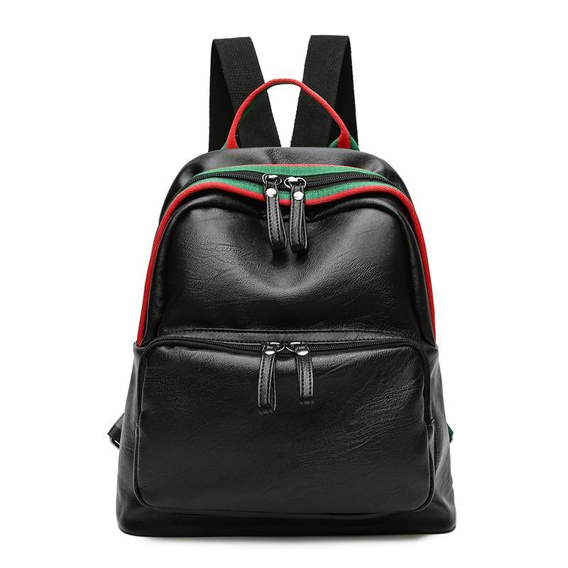 Tas wanita 2017 Fan Bingbing tas wanita mencuci bahu tas wanita ransel kasual pasang mode liar