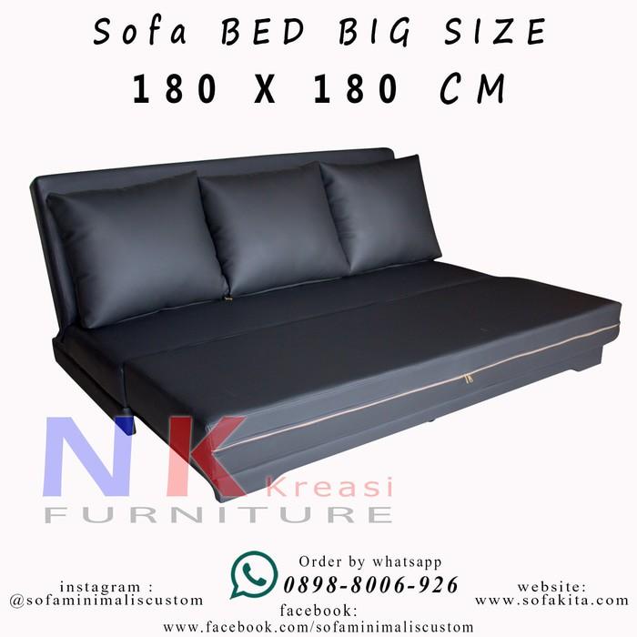 Promo Sienna Sofa Bed Lipat Kasur Tidur Furniture Rumah Shopee