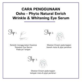 Osho - Phyto Natural Enrich Wrinkle & Whitening Eye Serum 30 ml 6