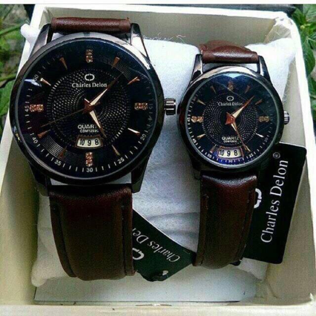 Jam tangan couple custom bisa pakai nama pasangan keren murah devar polos  rubber niqob arab arabic  c497dc7923