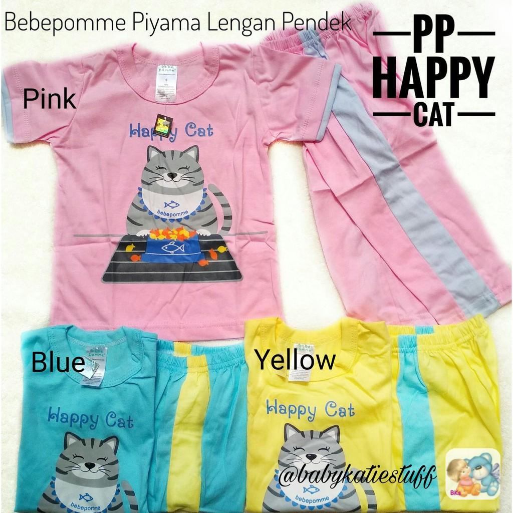 Macbear Kids Baju Anak Piyama Happy Cat Shopee Indonesia Setelan Polo Little Dino Park Variasi Dasi Size 1 Merah