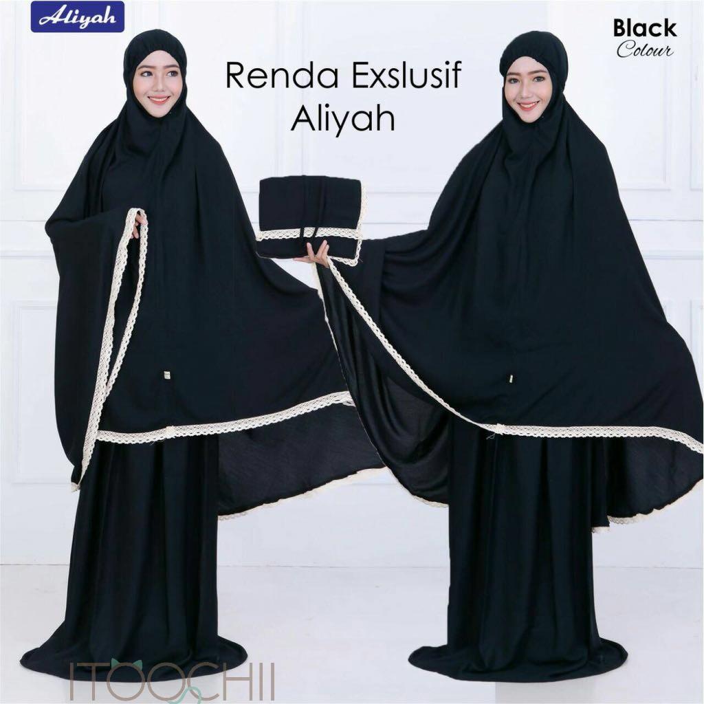 Celana Legging Wudhu Spandek Rayon Allsize Shopee Indonesia Warna Hitam Spandex