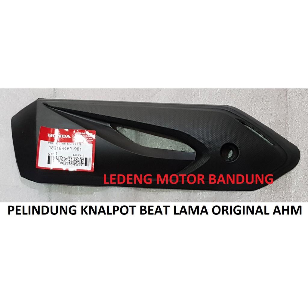 Cover Knalpot Protector Honda New Beat Esp Sporty Street Shopee Original Indonesia
