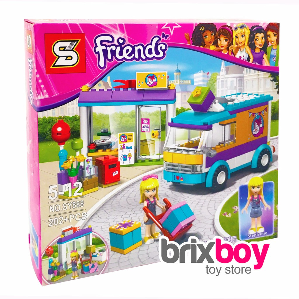 Lego Cinderella Friends Girl Princess Girls Mainan Perempuan Frozen