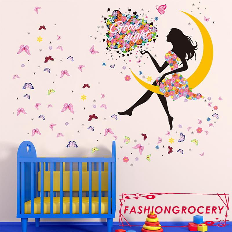 Wallsticker Stiker Dinding Motif Tumbuhan 60x90 - Multicolor. Source · Y.I-The Hotsale and