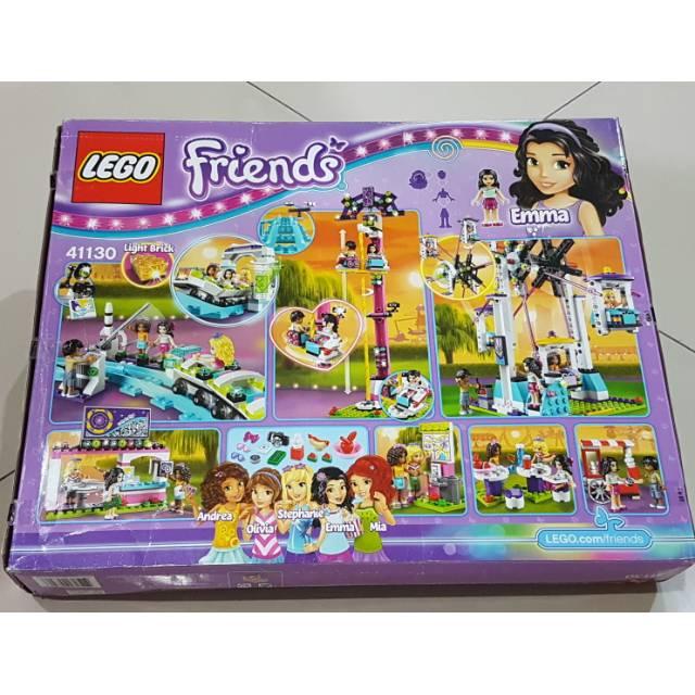 Lego Compatible Lepin 01008 Friends Amusement Park Roller Coaster