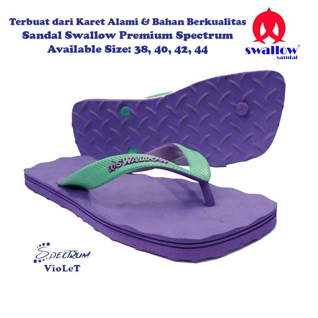 Sandal Swallow Premium Spectrum Pria Blue Shopee Indonesia Carvil Gunung Men Emerson Gm Black Hitam 42