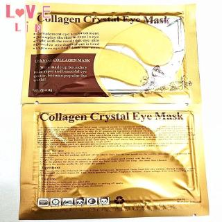 Lovelin 1PCS Gold collagen crystal eye mask to dilute fine lines and moisturize 7